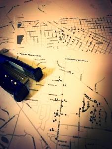 map cutting pic